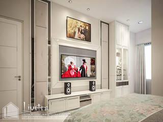 Ms. Bella's Private Residential PT Kreasi Cemerlang Abadi Kamar Tidur Klasik Kayu White