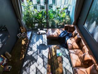 STH - Nhà thang bởi deline architecture consultancy & construction Hiện đại