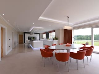 Mr and Mrs Stevenson by Diane Berry Kitchens Modern