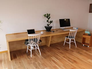 85inc. Eclectic style offices & stores Wood Wood effect