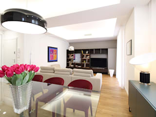 Гостиная в стиле модерн от Giuseppe Rappa & Angelo M. Castiglione Модерн