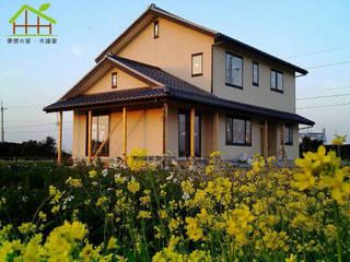 客製化設計-和風農舍-日式綠建築 根據 詮鴻國際住宅股份有限公司 田園風