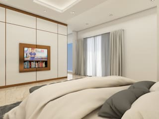 Minimalist bedroom by SCIArchitecture Minimalist