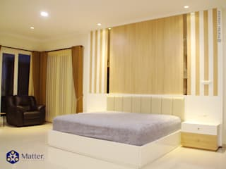 Modern style bedroom by Matter Interior Modern