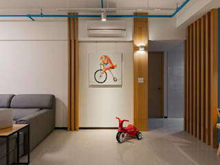 Modern living room by 築川設計 Modern