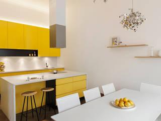 Projekt Belvedere Küche: klassische Küche von Patricia Tschen