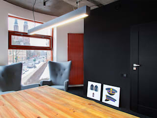Kancelaria na Pradze: styl , w kategorii  zaprojektowany przez Kąty Proste - Fotografia Wnętrz