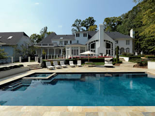 Classic style pool by BOWA - Design Build Experts Classic