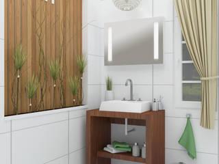 Diseño de baños para catálogo - Faravelli s.a.:  de estilo  por En Tu Interior