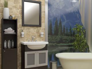 Diseño de baños para catálogo - Faravelli s.a.: Baños de estilo moderno por En Tu Interior