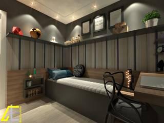 Bedroom by Ana Coutinho Arquitetura, Modern