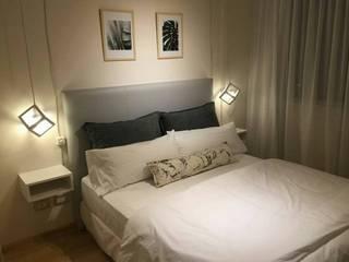 Iluminando departamentos para renta vía Airbnb! de Belmatel Minimalista