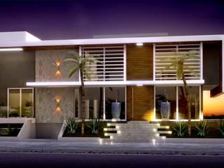現代房屋設計點子、靈感 & 圖片 根據 studio vert arquitetura 現代風