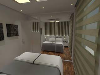 Residencia RR Quartos modernos por Rizzo Flessak Arquitetura e Engenharia Moderno