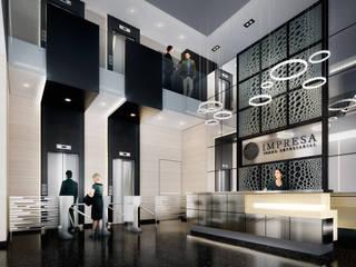 Torre Impresa:  de estilo  por Entorno AID, Moderno