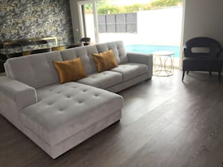 Projecto Lisboa 2017: Salas de estar  por RYU atelier de interiores ,Moderno