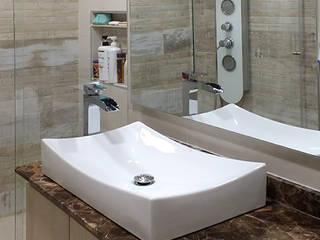 Remodelación de baño Baños de estilo moderno de Remodelar Proyectos Integrales Moderno Cerámico