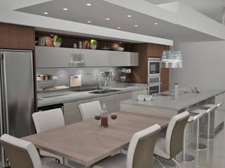 Built-in kitchens by Toque De Menta
