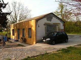 Casas de madera de estilo  por Softarchitecture