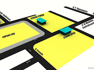 Offices & stores by Rumah Desain 2000, Minimalist