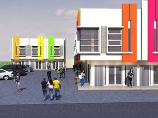 Desain Ruko minimalis 2 lantai berlokasi di Kota Pati Kantor & Toko Minimalis Oleh Rumah Desain 2000 Minimalis