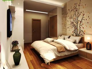 """Sự khác nhau giữa """"thiết kế nội thất"""" và """"trang trí nội thất"""": hiện đại  by Công ty TNHH Thiết kế và Ứng dụng QBEST, Hiện đại"""