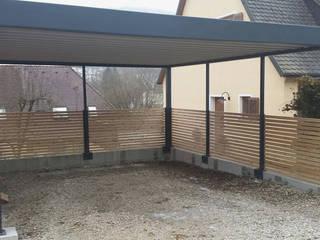 Carport-Schmiede GmbH & Co. KG - Hersteller für Metallcarports und Stahlcarports auf Maß Garages & sheds Iron/Steel Grey