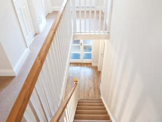 Surrey - Old Woking Classic style corridor, hallway and stairs by Corebuild Ltd Classic