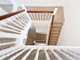 Surbiton Modern corridor, hallway & stairs by Corebuild Ltd Modern