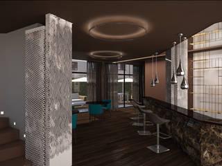 Steak House Negozi & Locali commerciali moderni di Silvana Barbato Moderno