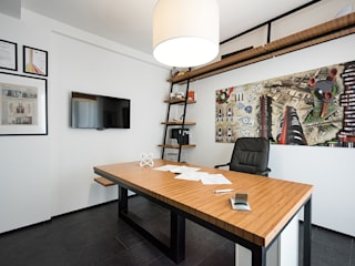 Modern Çalışma Odası Laboratorio di Progettazione Claudio Criscione Design Modern