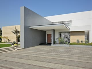 kabir bungalow: modern  by USINE STUDIO,Modern
