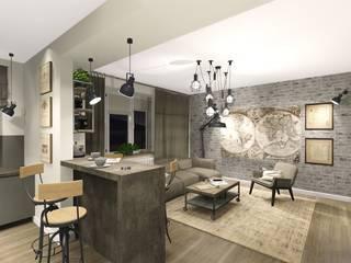 Industrial style kitchen by KOKON zespół architektoniczny Industrial