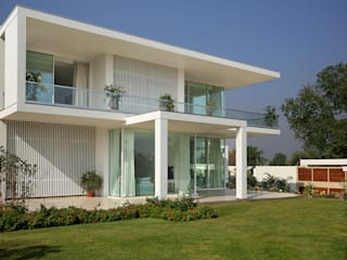akshay shah (samruddhi bungalow):  Houses by USINE STUDIO