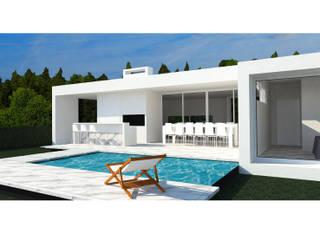 Casa YP: Casas de estilo  por MCA - Estudio de Arquitectura