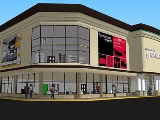 muebleria: Centros de exhibiciones de estilo  por DAC DISEÑO ARQUITECTURA Y CONSTRUCCION