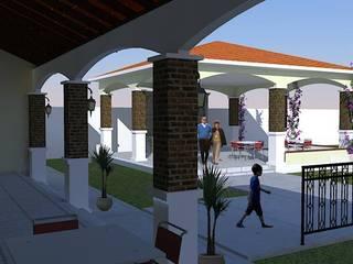 casa de campo: Bares y discotecas de estilo  por DAC DISEÑO ARQUITECTURA Y CONSTRUCCION