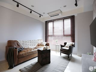 樂宅設計|新店安坑i愛漂亮|25坪三房兩廳新成屋 根據 樂宅設計|系統傢俱