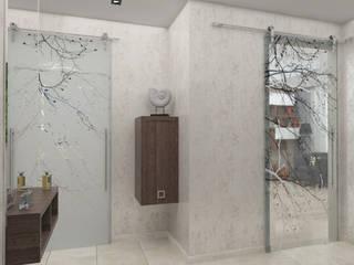 Pasillos, vestíbulos y escaleras de estilo minimalista de Студия дизайна и декора Светланы Фрунзе Minimalista