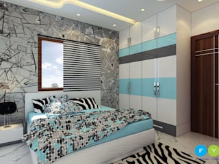Give your children a space they will Love Modern style bedroom by FYD Interiors Pvt. Ltd Modern