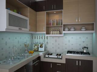Desain Kitchen Set:   by CNDR. Studio