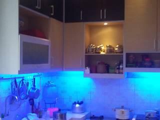Hasil Realisasi:  Unit dapur by CNDR. Studio