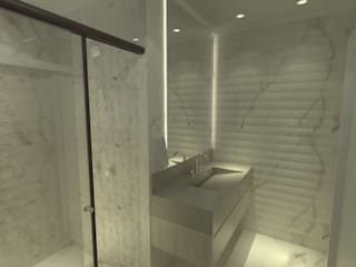 Bathroom by TYPE Arquitetura, Modern