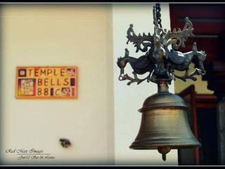 Temple Bells - Arati and Sundaresh's Residence:  Artwork by Sandarbh Design Studio