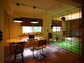 Asian style study/office by 一穰設計_EO design studio Asian