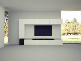 diseño mueble living:  de estilo  por MARIA NIGRO ARQUITECTA