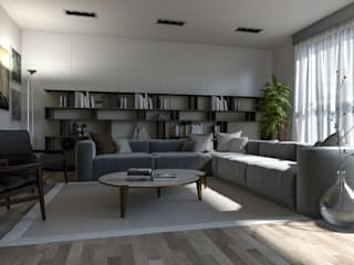 mcp-render Modern living room Grey