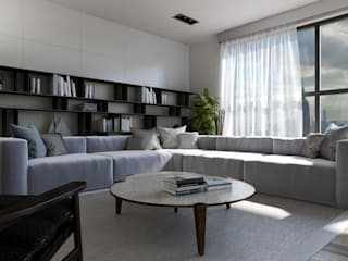 mcp-render Modern living room White