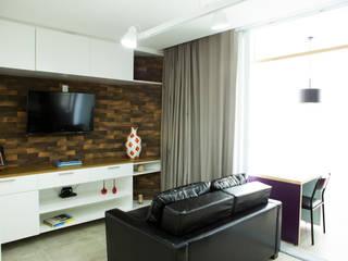 Reforma e decoração em studio: Quartos  por AGap Arquitetura e Planejamento,Moderno