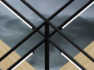 Assemblés Balcon, Veranda & Terrasse minimalistes par Hadrien Fouin Minimaliste